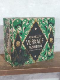 Oud Antieke Verkade Winkelblik Blik Assortiment Surpreme