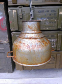 Oude Vintage Industriele Lamp Melkzeeflamp Melkzeef Teems