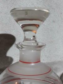 Oude Vintage Karaf Stopfles Roemenie