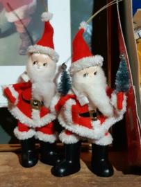 Oude Vintage Kerstman Pop 5649