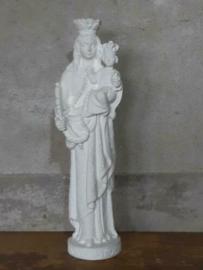 Oud Antiek Gipsen Mariabeeld Maria Beeld OLV van Stoepe