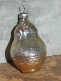 Oude Antiek Vintage Kerstbal 4757 Koffiepot Kruik