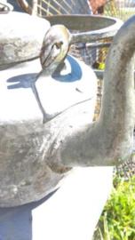Oude Brocante Koperen Vertinde Waterketel Ketel Theepot