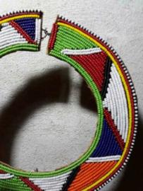Oude Afrikaanse Ketting Halsversiering Masai Kenia