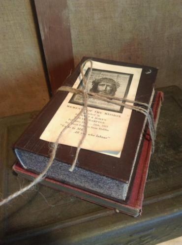 Oude Brocante Bundel Bijbels Religieuze Boekjes B15