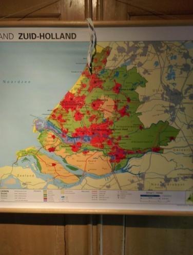 Schoolplaat Zuid Holland als Nieuw