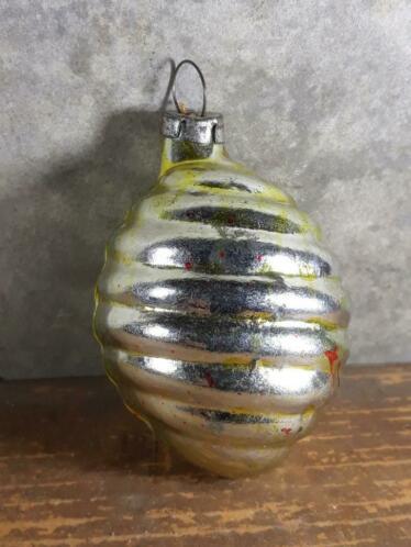 Oude Antieke Russisch Kerstbal 3737 Lampion