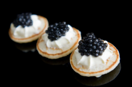 Recept Russische mini blini