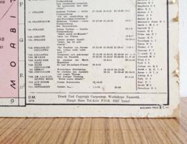 Religieuze vintage schoolplaat, Het Heilige Land / Het leven van Jezus