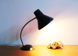 SIS vintage bureaulamp. Retro design lampje