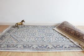 Handgeknoopt Oosters kleed, Bidjar. Vintage Bohemien tapijt.