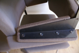 Set van 6 vintage Gispen stoelen. Retro design fauteuil, model 1265 van Cordemeijer