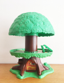 Lege vintage speelboom van Clipper. Origineel retro Kenner family Tree House