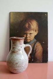 Prachtige vintage Mobach vaas. Retro aardewerk karaf