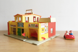 Vintage Fisher-Price dorp. Origineel retro speelgoed -Fisher price Village 997
