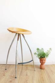 Italiaans design barkruk, model Lyra van Magis. Retro kruk / stool