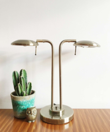 Design lamp van Jan des Bouvrie -R7S. Vintage tafellamp, Dutch Design