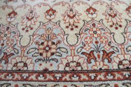 Groot vintage kleed - Louis de Poortere. Wollen Boho tapijt met o.a. bloemen