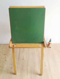 Tof vintage verfbord. Houten retro ezel / tekenbord