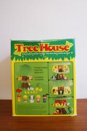 Vintage speelboom van Clipper. Originele retro TreeHouse, compleet en met originele doos.