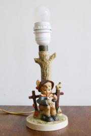 Vintage Hummel lampje, She loves me, she loves me not. Rtro lamp, Goebel/W. Germany