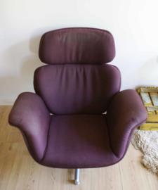 Toffe vintage Artifort fauteuil. Retro design stoel, Big Tulip F545 van Pierre Paulin