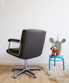 Vintage bureaustoel, Geoffrey Harcourt voor Artifort? Retro design stoel/ desk chair