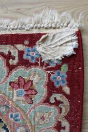 Groot handgeknoopt Perzisch tapijt, Kirman/Kerman. Oosters vintage kleed uit Iran.