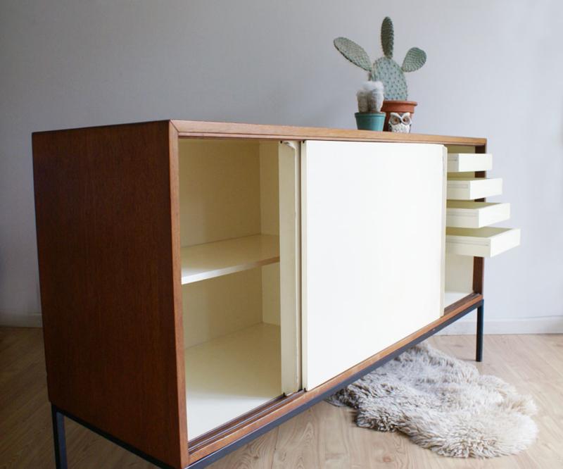 Ongekend Tof retro dressoir met schuifdeuren, KW61-Martin Visser -'t PC-31