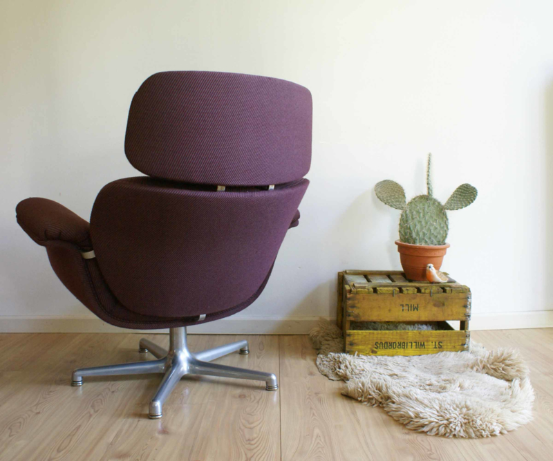Vintage Design Fauteuil.Toffe Vintage Artifort Fauteuil Retro Design Stoel Big Tulip