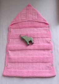 Roze slaapzakje - 100% Acryl