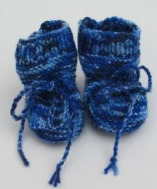 Baby Slofjes Donkerblauw
