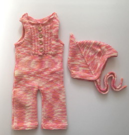 Baby Boxpakje Roze 100% Wol