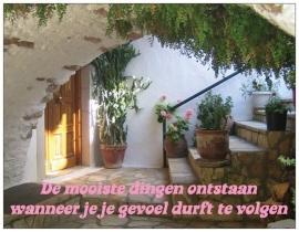 Wenskaart  Inspiratie - Gevoel