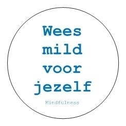 Sticker Mindfulness - Jezelf