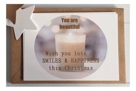 Kerstkaarten set You are a gift | 8 kaarten & enveloppen