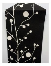 Cadeau zakjes leeg   Japanse bloesem   per 4 zakjes