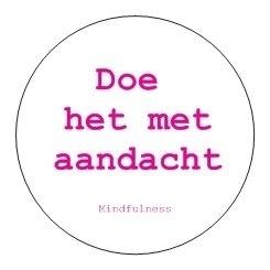 Sticker Mindfulness | Aandacht