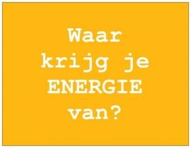 Wenskaart Talent - ENERGIE