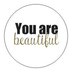 Sticker You are a gift | You are beautiful