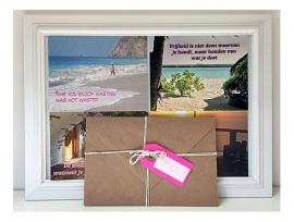 Wenskaarten set Inspiratie | set van 4 wenskaarten incl. envelop