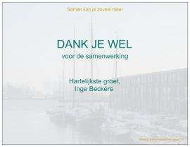 Inge Beckers HR Communicatie   Eindejaarsgeschenk relaties
