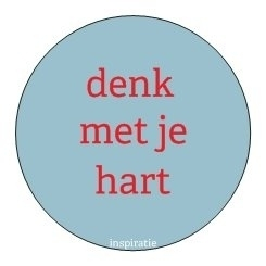 Sticker Inspiratie - Denk