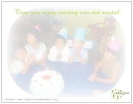 Stichting Muses | Verjaardagskaart voor alle relaties