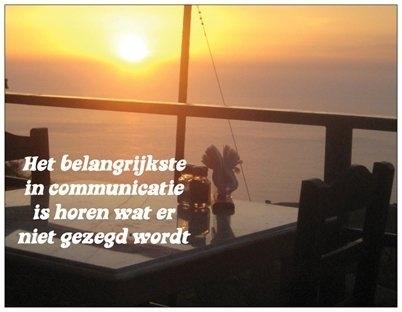 Wenskaart Inspiratie - Communicatie