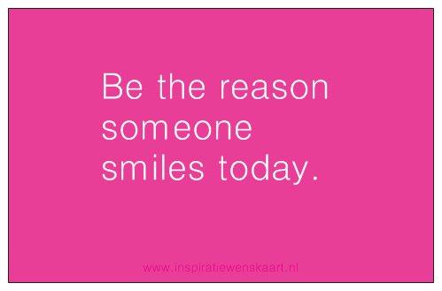 Heart in Business inspiratiekaartje | Smile | per 5 stuks