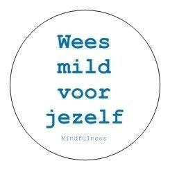 Sticker Mindfulness   Jezelf