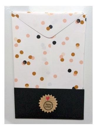 Cadeau zakjes leeg | Confetti | per 4 zakjes