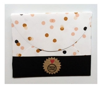 Cadeau envelopje leeg | Confetti | per stuk