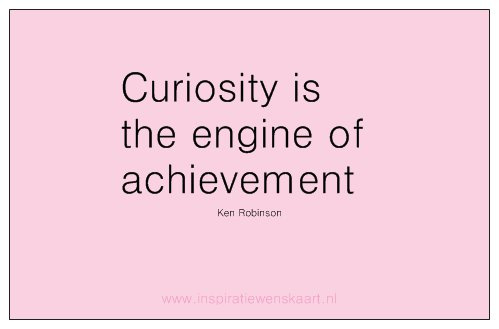Heart in Business inspiratiekaartje | Curiosity | per 5 stuks